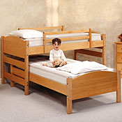 Solid Maple Childrens 4 in 1 Sleep System