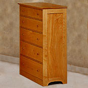 Solid Maple 5 Drawer Dressers