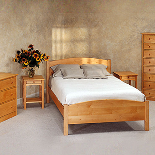 Clic Maple Bedroom Furniture 6 Piece Set