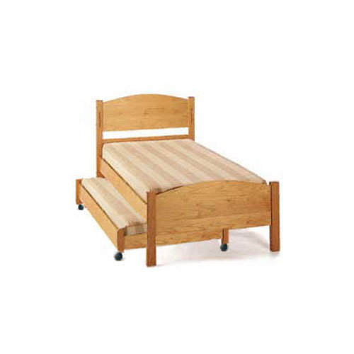 Classic Maple Trundle Bed Set