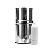 The Pure Company Stainless Steel Decanter + 1 Free Insulated Water Bottle