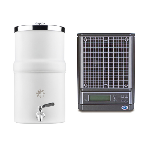 Water Decanter and Ecosphere Air Purifier Odor Elimination Bundle