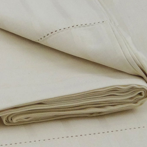 Organics and More Organic Cotton 400 TC Luxury Striped Sateen Sheet Sets