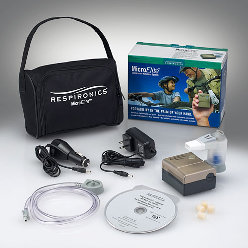 Respironics MicroElite™ Portable Compressor Nebulizer Systems