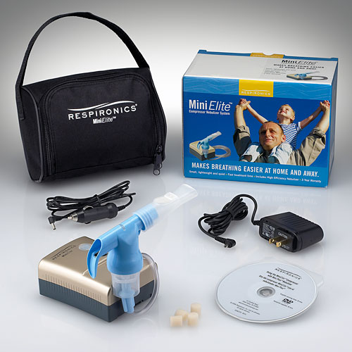 Respironics MiniElite™ Portable Compressor Nebulizer Systems