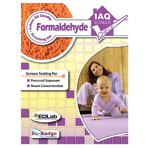 Formaldehyde Screening Kit for Home or Office