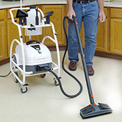 Reliable Brio Pro 1000CC Commercial Vapor Steam Cleaners - with Trolley Cart