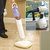 Reliable Steam Mop & Handheld Steam Cleaner Package