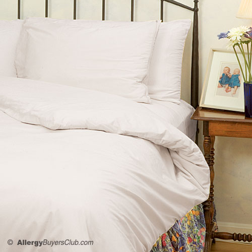 White Mountain Textiles Cotton Deluxe Comforter Cover