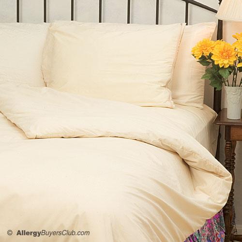 Solus Organic Cotton Dust Mite Comforter Covers Duvet
