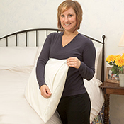 White Mountain Textiles Cotton Deluxe Pillow Covers