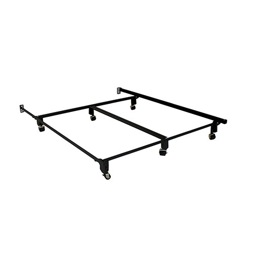 Heavy Duty Metal Bed Frame for Royal Pedic Bed Sets