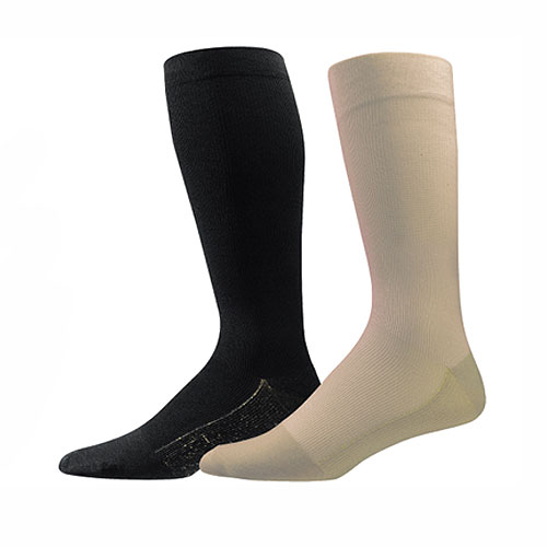 Copper Sole Womens Compression Support Socks - 1 Pair