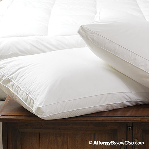 White Mountain Textiles Gusseted Side Sleeper Pillow