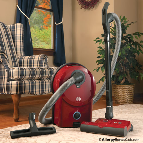 SEBO Airbelt D4 Red Canister Vacuum Cleaner