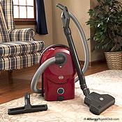 SEBO Airbelt D4 Canister Vacuum Cleaner w/ Turbo Head