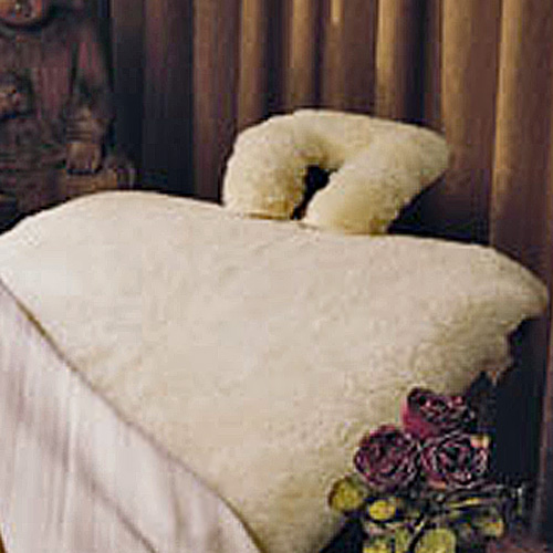 Fleece Wool Massage Table Pads & Face Pads