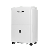 Pure & Dry Whisper 50 Dehumidifier with Pump