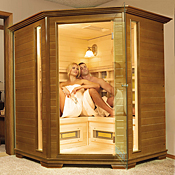 TheraSauna Premiere Corner Executive Far Infrared Saunas