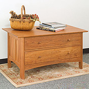 New England Wood Chatham 2-Drawer Blanket Chests