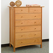New England Wood Chatham 7 Drawer Dressers