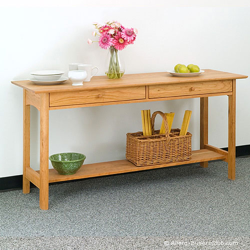 New England Wood Chatham Kitchen Console Tables