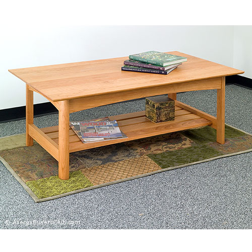 solid wood coffee tables & end tables - allergybuyersclub