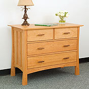 New England Wood Weston 4-Drawer Dressers