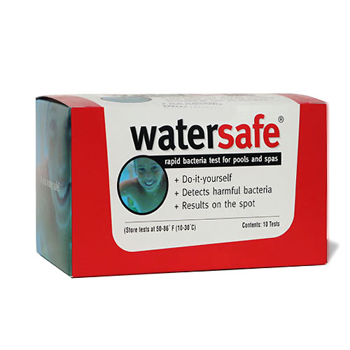Watersafe Rapid Bacteria Pool Test Strips � 10 Pack
