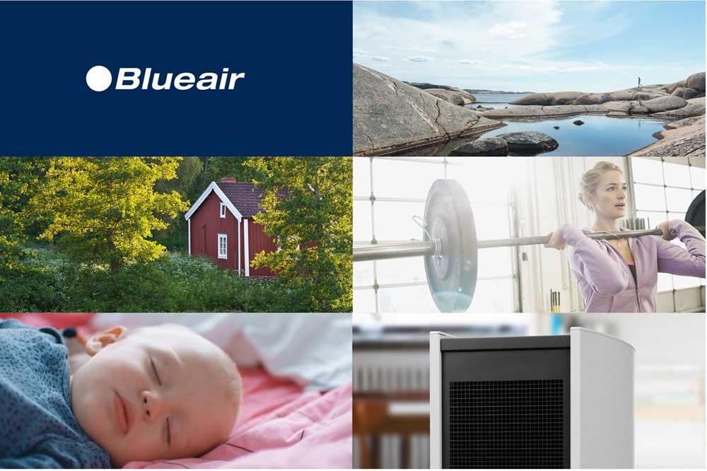 Blueair Air Purifiers & Blueair Replacement Filters