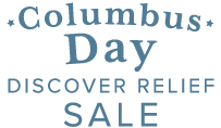 Columbus Day Discover Relief Sale