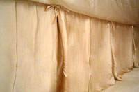Kumi Kookoon Classic Silk Bed Skirt