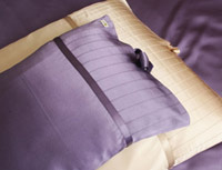 Kumi Kookoon French Pleat Silk Pillow Sham